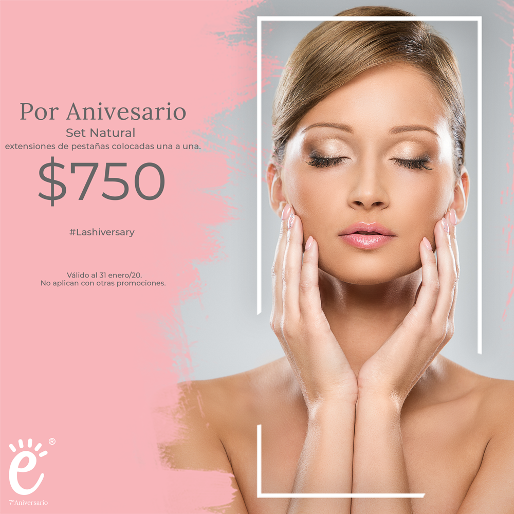 2x1 en set natural por aniversario