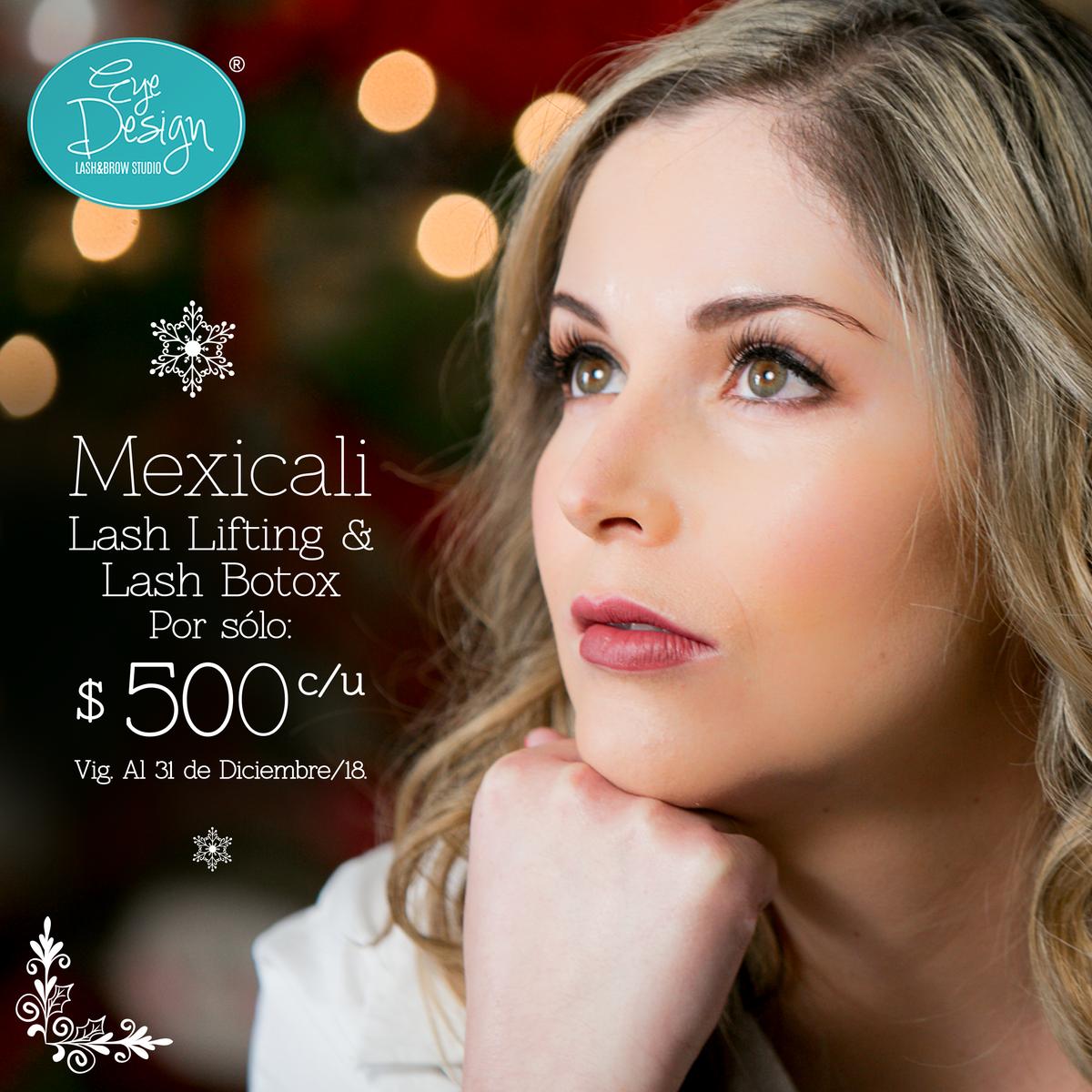 Lash Lifting & Lash Botox por $500 c/u