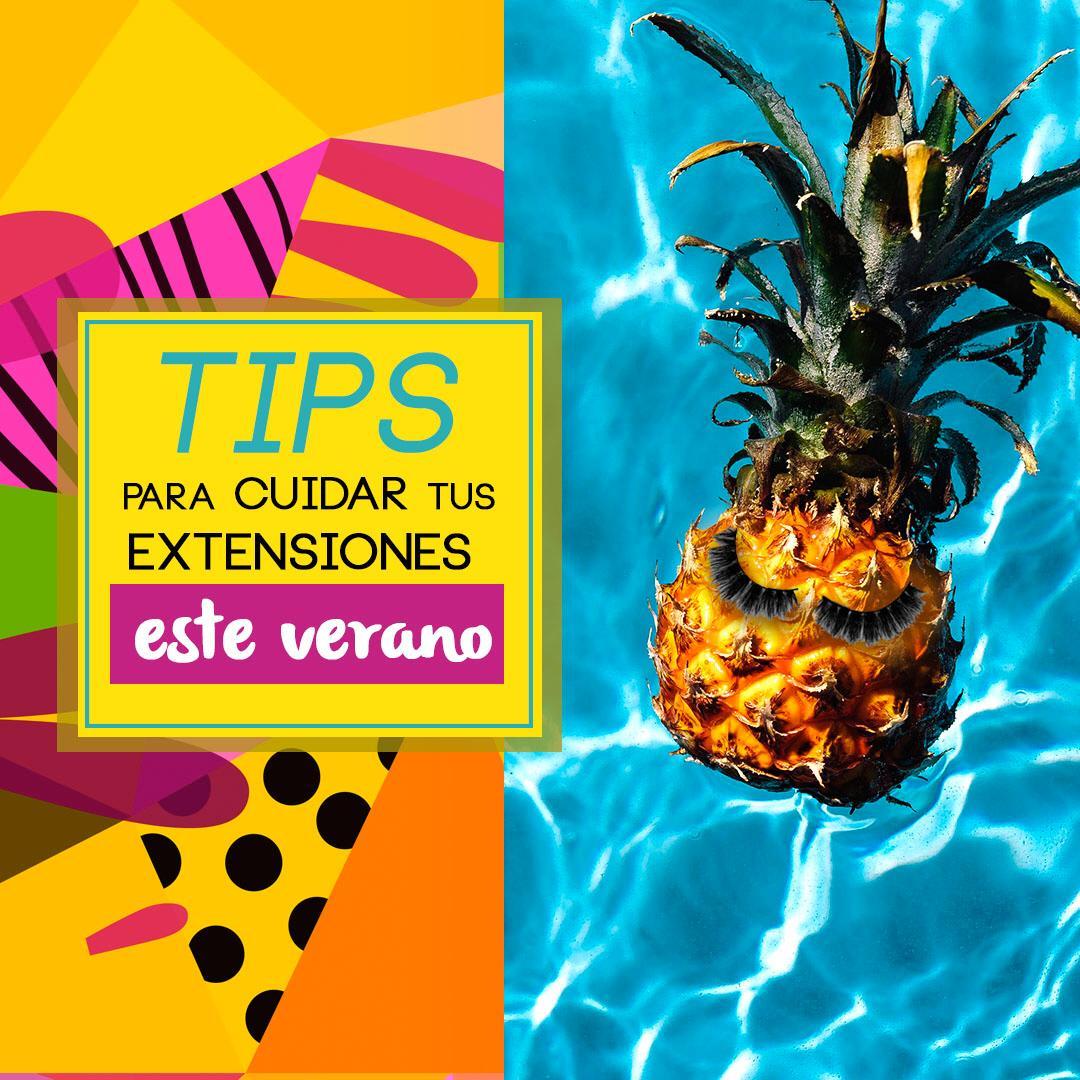 TIPS PARA CUIDAR TUS EXTENSIONES ESTE VERANO  - eyedesign